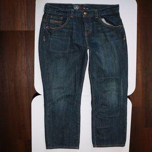 Gap 1969 Limited Edition Cropped Denim Blue Jeans